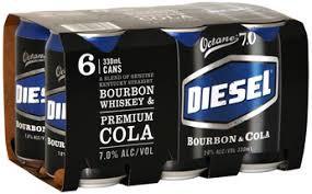 Diesel 7% 6pk Cans 330ml