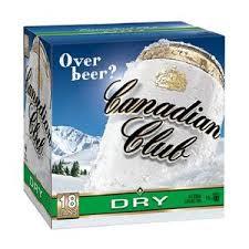Canadian Club Dry 18pk 330ml