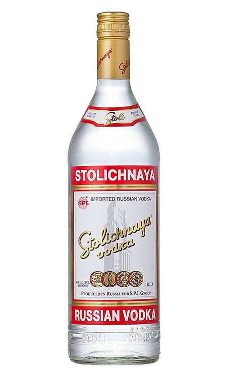 Stolichnaya Vodka 1 Litre
