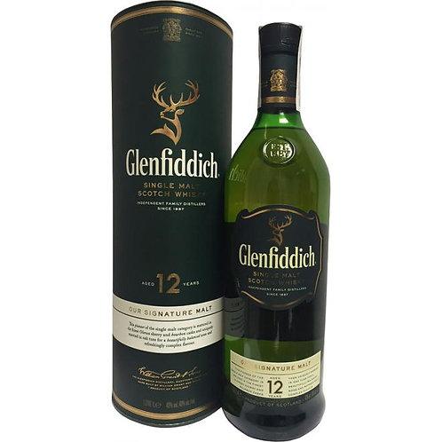 Glenfiddich 12yo 1 ltr