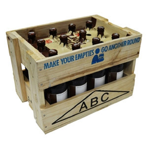 Lion Brown Crate (includes $7 of empty ABC crate)