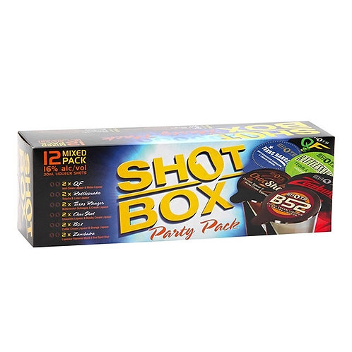 Shots Box Party Pack 12pk