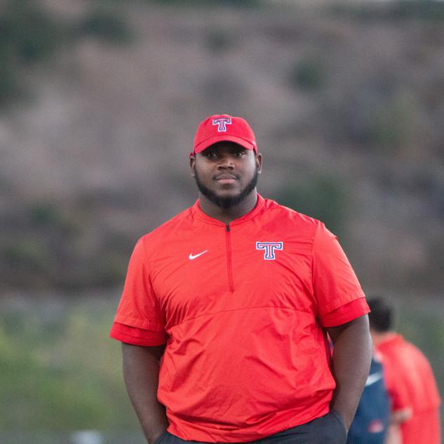 Asst. Coach Chasz Roberts