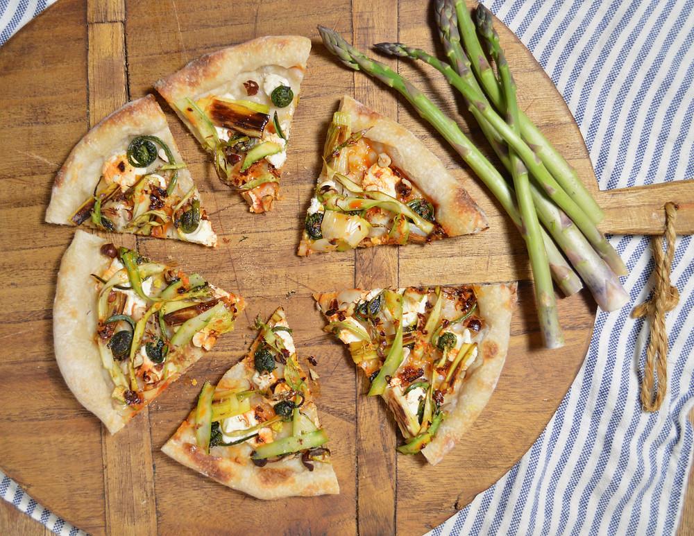 Artichoke Medley Pizza