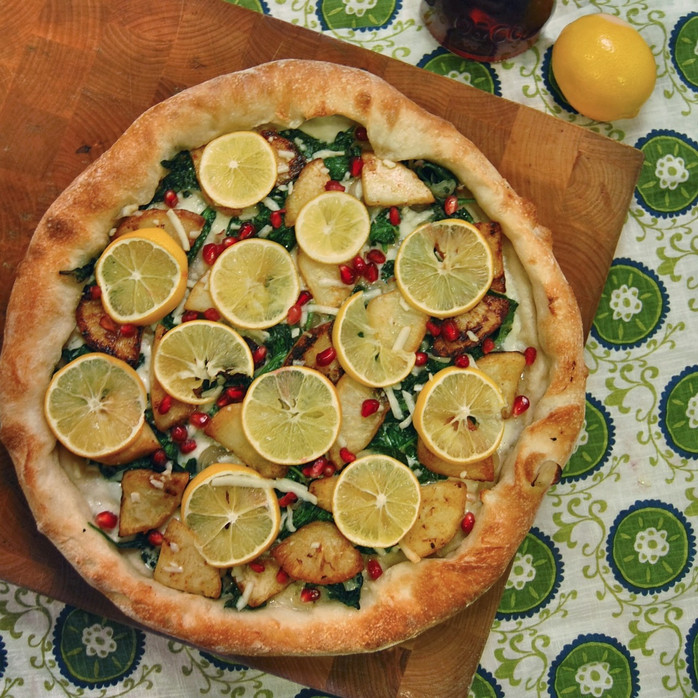 Meyer Lemons & Spiced Celeriac