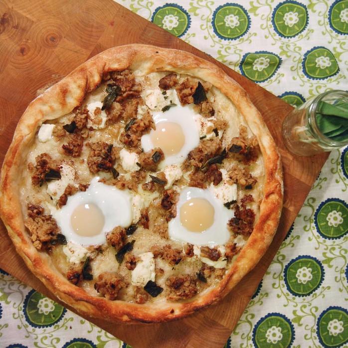 Baked Oatmeal & Eggs