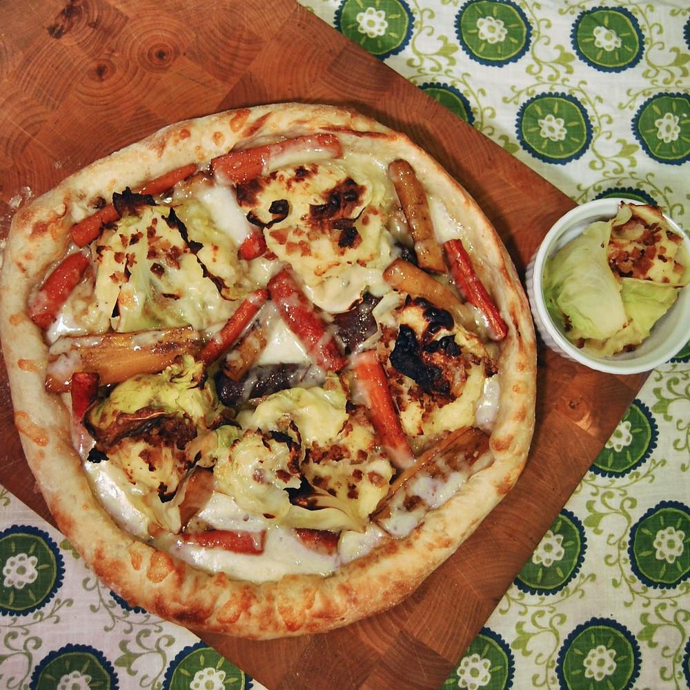 St. Paddy's Day Irish pizza