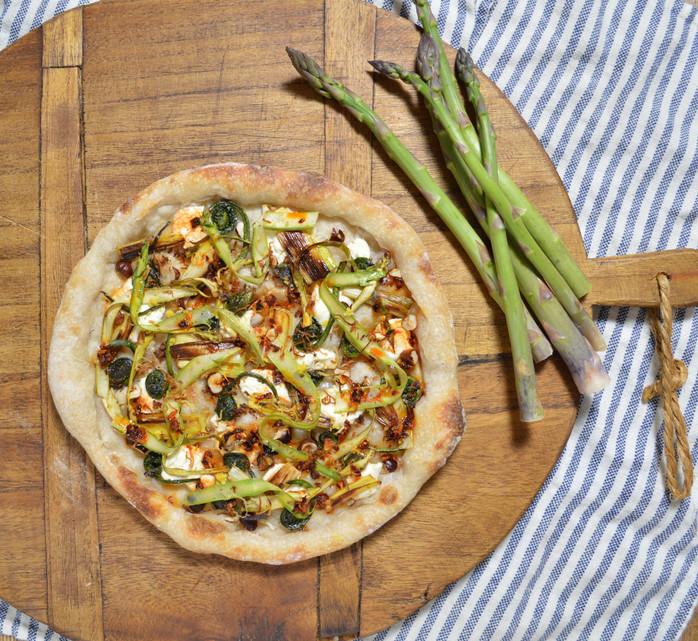Fiddleheads, Leeks & Asparagus
