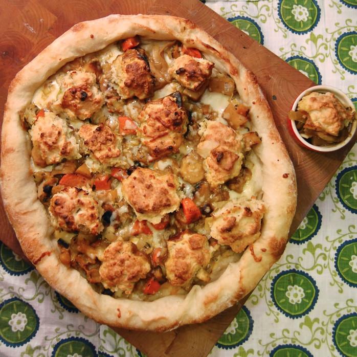 Pot Pie Pizza
