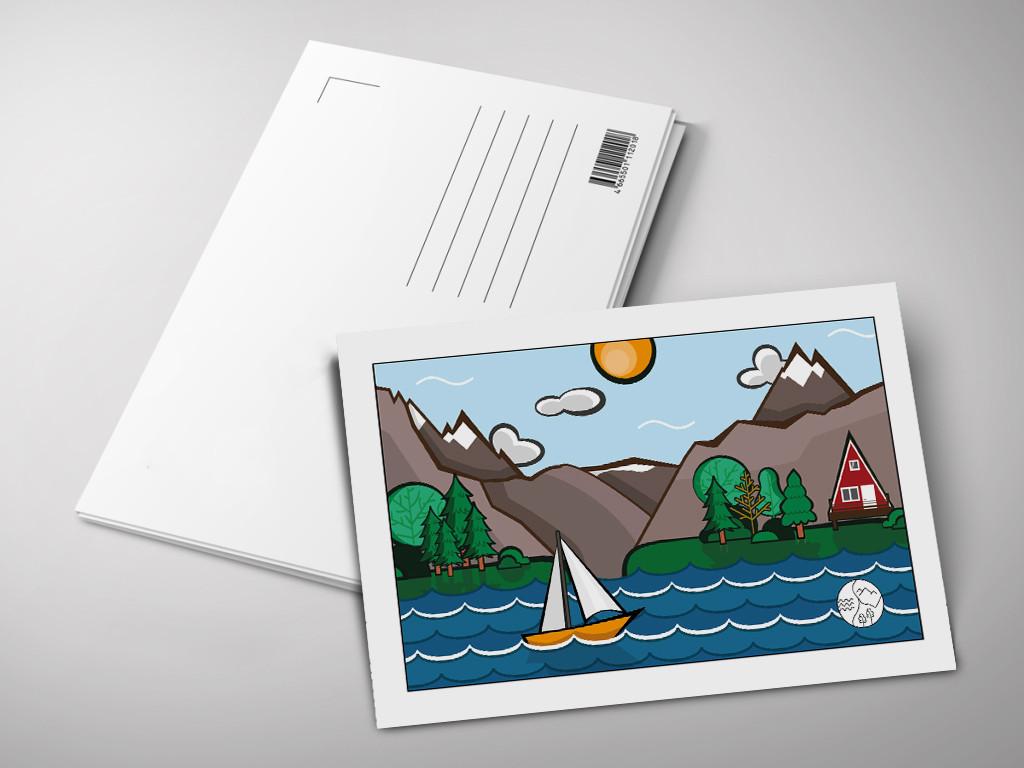 Создать рекламную открытку, днем рождения картинки