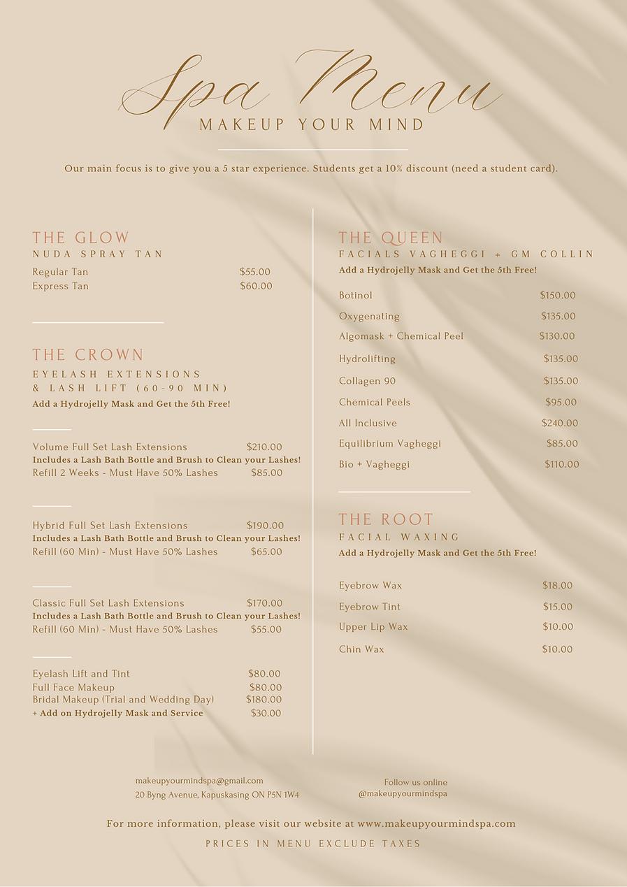 Light Brown Simple Spa  Salon Services Menu.png