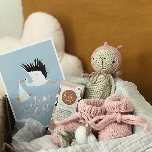 Babyduft Geschenkset welcome girl
