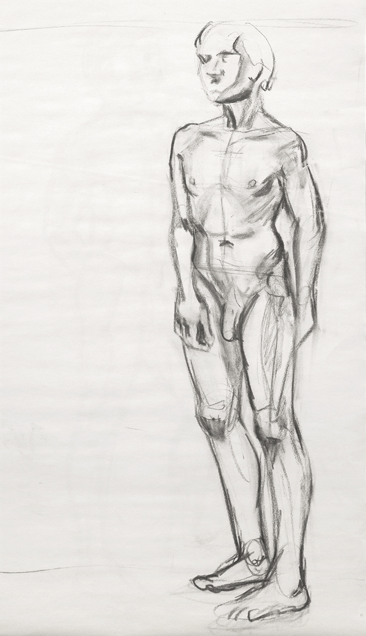 Life Drawing Standing Pose B