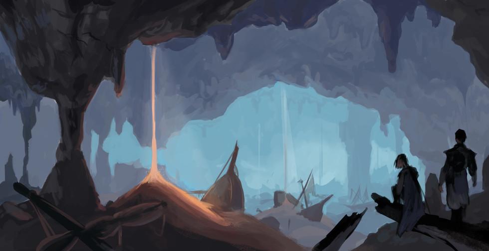 Subterranean Sandship Graveyard