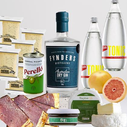 Finders Gin & Cheeseboard Hamper