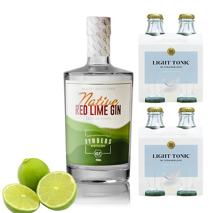 Native Red Lime Gin & Tonic Bundle