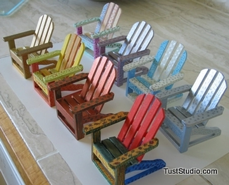 Mini Adirondack Chairs Of Charity