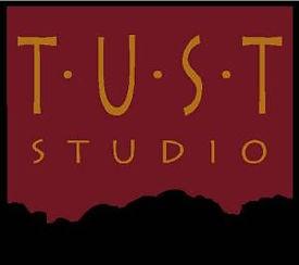 logo for Tust Studio San Francisco for faux finishing, wood graining, classes