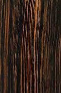 faux zebrawood sample taught in wood graini