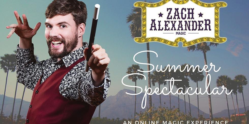 Zach Alexander's Summer Spectacular Online