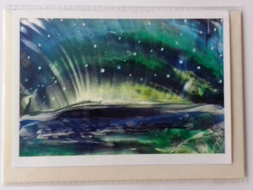 Midnight Magic: Print Greetings Card