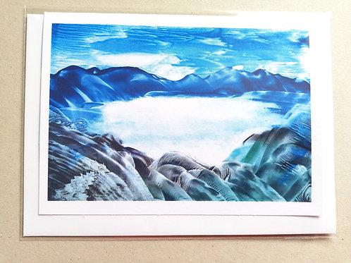 Crater Lake: Print Greetings Card