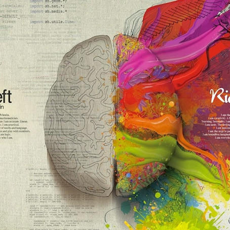 Art and Writing on Both Sides of the Brain