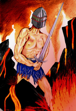 warrior in hell