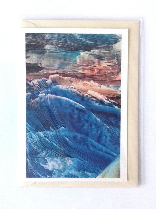Furious Seas: Print Greetings Card