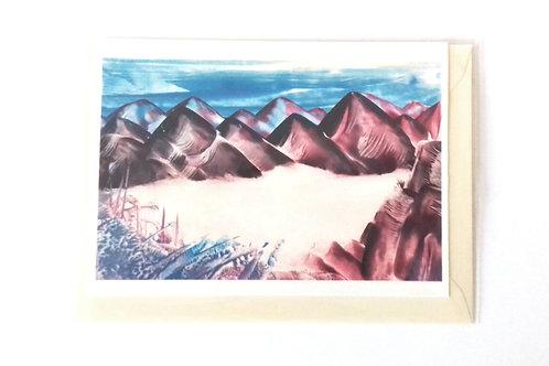 Beyond the Black Hills: Print Greetings Card
