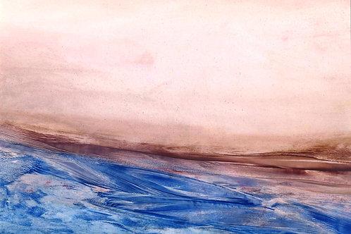 the desolate coast