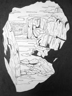 cave landscape