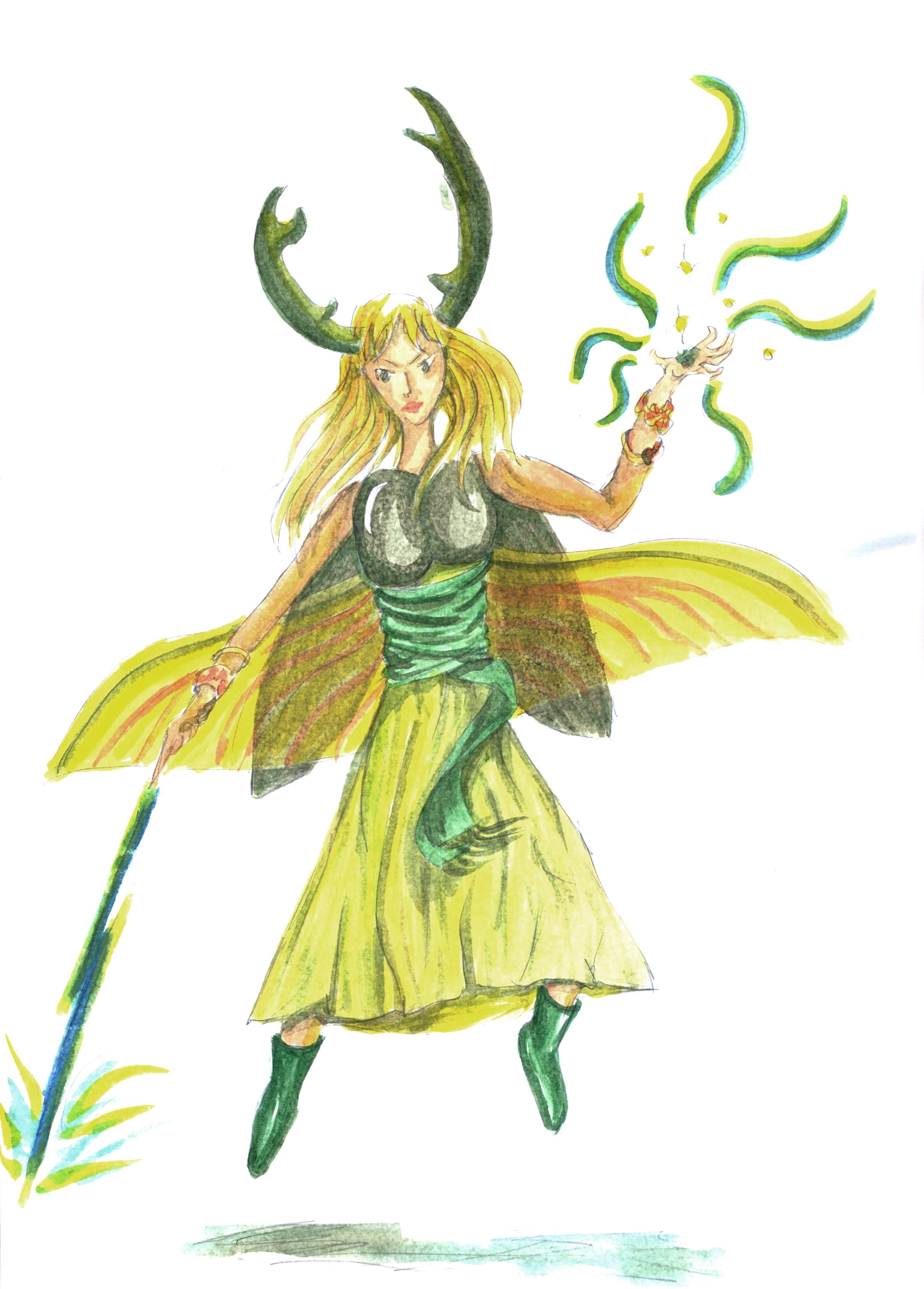 stag beetle fae