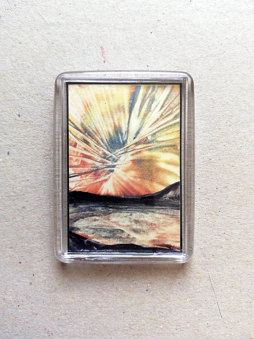 Exploding sky: Fridge magnet