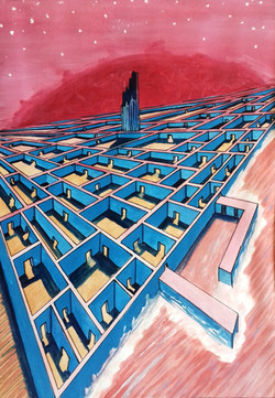 the fall of Babel 3000AD