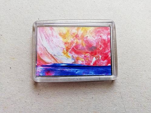 Golden Sky: Fridge magnet