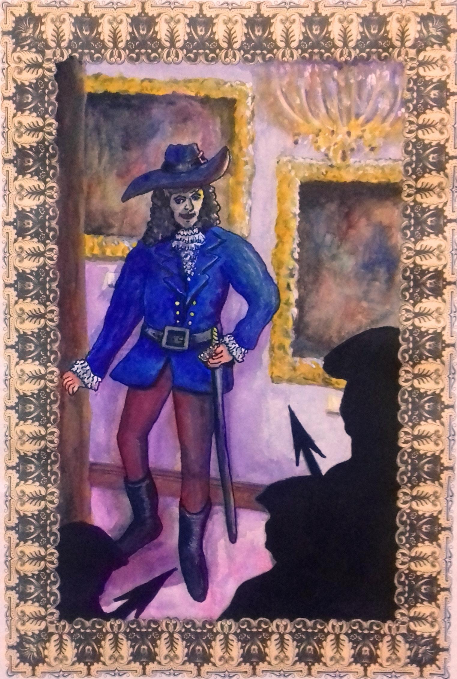 cornered cavalier