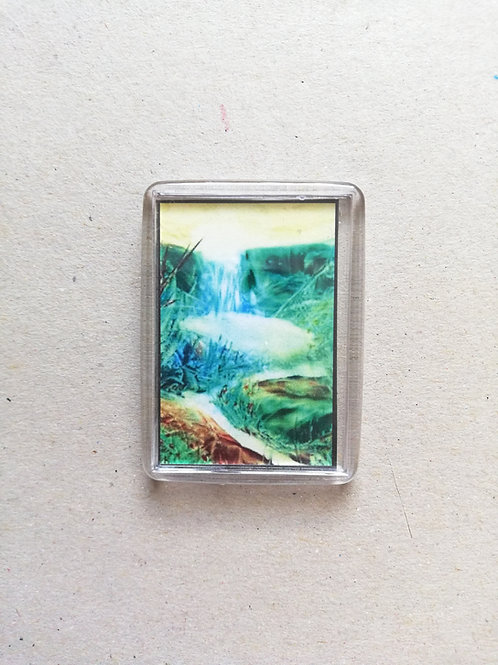 Enchanted Pool: Fridge magnet