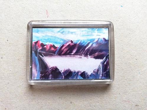 Heart of the Glacier: Fridge magnet