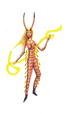 centipede fae