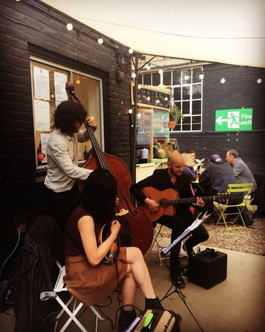 Swing Train 42 Live at The French Corner