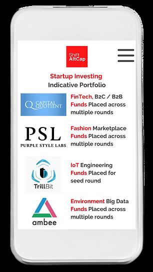 Startups Funded