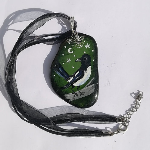 'Under Starry Skies' Earth Stone Pendant