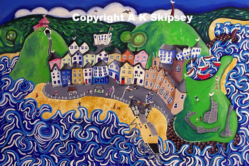 'The Seafront - Aberystwyth'