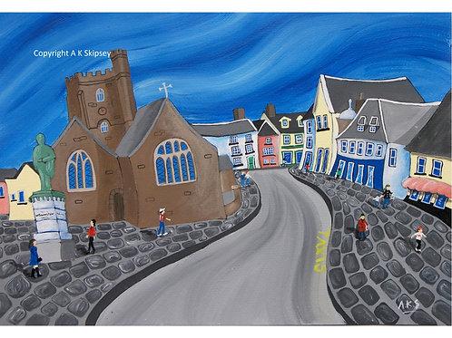 Brecon Town