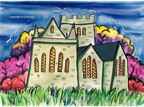 'Brecon Cathedral'