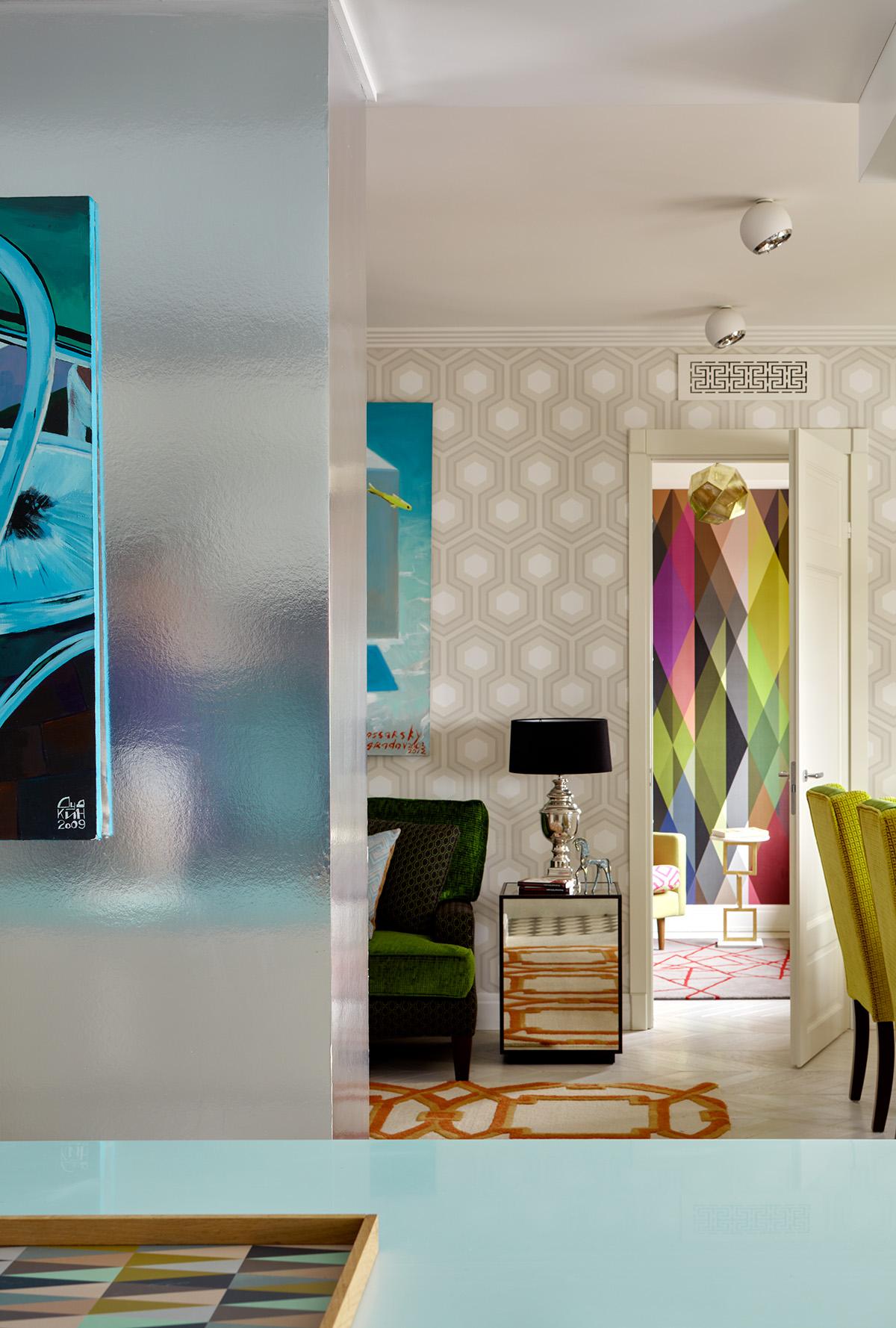 "Проект ""Цветная квартира"""