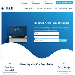 HVAC Landing Page