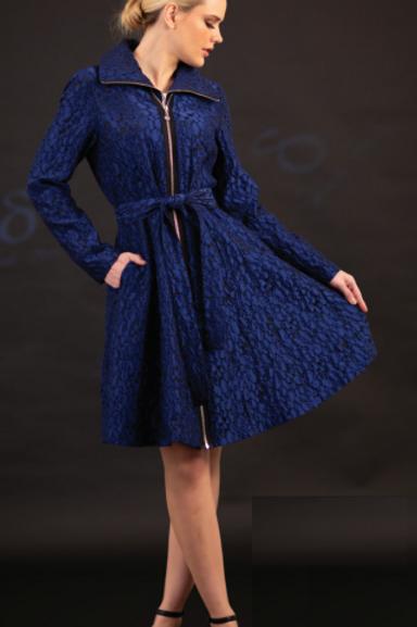 Yarn Dyed Brocade Dress