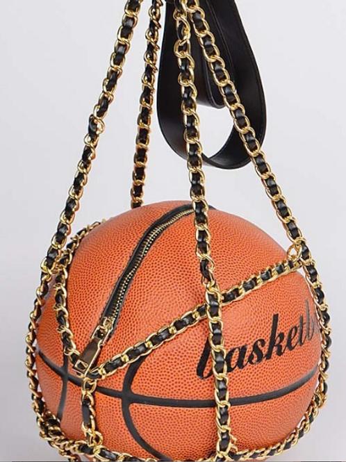 Free Throw Chained Basketball Handbag
